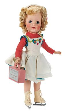 View Catalog Item - Theriault's Antique Doll Auctions rare Sonja Henie MA made for 1 year only