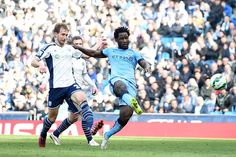 Wilfried Bony's first goal for City!