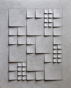 B e n j a m i n P l é Minimalist Drawing, Minimalist Art, Composition Design, Texture Design, Origami Templates, Box Templates, 3d Art Drawing, Illusion Paintings, Plaster Crafts
