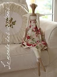 Tilda doll-- in a large size! Sewing Dolls, Soft Dolls, Diy Doll, Fabric Dolls, Rag Dolls, Cute Dolls, Stuffed Toys Patterns, Doll Accessories, Doll Patterns