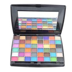 multicoloured eyeshadow pallett