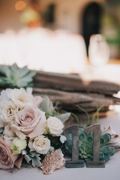 #tablenumbers Obsessed with this rustic table setting! http://www.stylemepretty.com/2013/10/23/beachy-bohemian-inspired-wedding-from-kelly-stonelake-photography/
