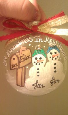 Our First Home Ornament - First Home - New Home - Christmas ...
