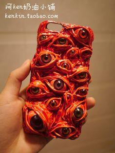 Harajuku Horror Bloody Eyes Apple iPhone 6, iPhone 6 Plus, iPhone 6s, iPhone 6s Plus, iPhone 5s, iPhone 4s Case