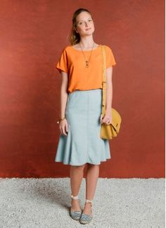 Lularoe Fashion Tips .Lularoe Fashion Tips Modest Wear, Modest Outfits, Skirt Outfits, Classy Outfits, Casual Outfits, Work Fashion, Modest Fashion, Skirt Fashion, Fashion Outfits