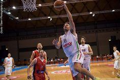 Giovanni Coronini in azione durante la vittoriosa semifinale di Coppa Italia 2016 Vis Nova Basket - Olimpo Alba