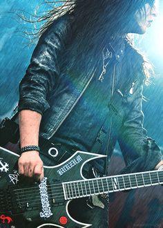 Joey Jordison   Murderdolls   Rain Effect