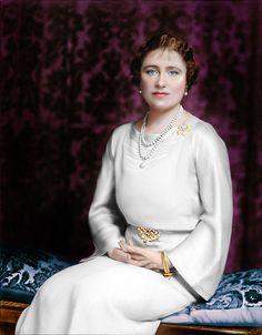 Queen Elizabeth ( later the Queen Mother)