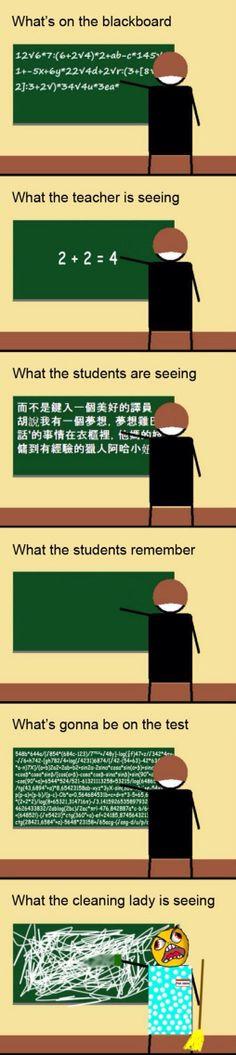 Das ist so wahr! Das ist so wahr! This is SO true! Das ist so wahr! Math Humor, Teacher Humor, Math Teacher, School Teacher, Humor Videos, Funny Jokes, Hilarious, All Meme, School Memes