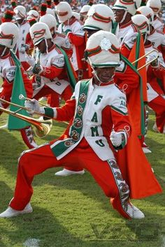 Get down with the Florida A&M University Marching 100!