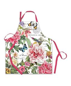 Another great find on #zulily! Peony Chef Apron #zulilyfinds