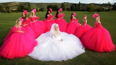 My big fat gypsy wedding...  Like a train wreck that you cant help but watch lol
