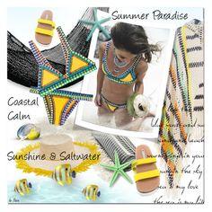 """FINALLY SUMMER"" by deneve ❤ liked on Polyvore featuring Anna Kosturova, Linum Home Textiles, NOVICA, Mismo, adidas, Sensi Studio, kiini, beachwear and summer2016"