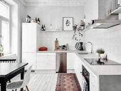Minimalist Interior Design - Minimalist Home Decor - Kitchen Decor, Kitchen Inspirations, Interior Design Kitchen, Kitchen Interior, Home Kitchens, Kitchen Sets, Kitchen Remodel, Kitchen Dining Room, Home Decor
