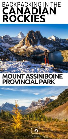 Photography and outdoor guide to visiting Mount Assiniboine Provincial Park in C. Photography and outdoor guide to visiting Mount Assiniboine Provincial Park in Canada Backpacking Canada, Canada Travel, Ludington State Park, National Park Camping, National Parks, Camping Photography, Photography Guide, Park Photography, Rocky Mountains