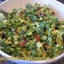 Broccoli Flower Salad - onecreativemommy.com