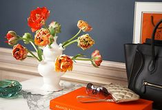 Tulips have a namesake vase called a tulipiere