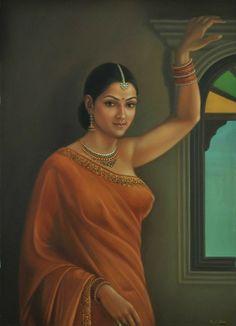 Arab Girls, Indian Girls, Arabian Beauty Women, Art Painting Gallery, Art Gallery, Indian Art Paintings, Beautiful Girl Indian, Beautiful Women, Woman Painting