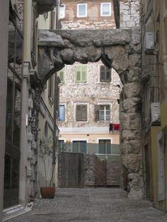 Old Gateway (Roman Arch) - Rijeka, Croatia