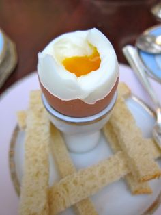 Oeuf a la coq--one of the best French breakfasts