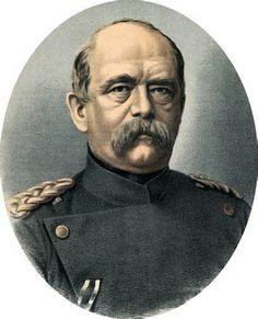 Otto von Bismark primo ministro conservatore autoritario , che voleva  l' unificazione tedesca e la nascita del nuovo Reich. Nel 1859 fu ambasciatore in Russia e nel 1862 in Francia. Divenuto cancelliere (1815-1898 )  intuì che l' Austria non era più in grado di impedire la nascita di un vasto impero germanico , guidato dalla Prussia. Dopo la trionfale vittoria del 1871 cercò di mantenere buone relazioni politiche sia con la Russia sia con l' Inghilterra .