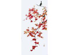 Ella_Saridi Sparrow on maple branch