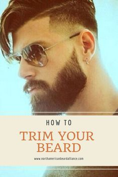North American Beard Alliance Blogs:  How To: Trim Your Beard (Even When You're Growing It Out) - It might seem counterintuitive to trim your beard if you're trying to grow it out, but a little pruning can go a long way. If you want your beard to grow out smoothly, evenly, and magically that is.  #beardman #beardtrim Beard Trimming Guide, Beard Trimming Styles, Trimmed Beard Styles, Beard Styles For Men, Beard And Mustache Styles, Beard No Mustache, Trim Beard Neckline, Beard Quotes, Beard Shapes