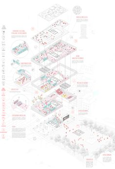 matos castillo – Famous Last Words Architecture Concept Drawings, Pavilion Architecture, Architecture Graphics, Architecture Portfolio, Sustainable Architecture, Architecture Diagrams, Factory Architecture, Architecture Design, Architecture Presentation Board