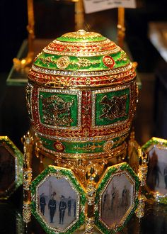 Faberge egg | from 1885 through 1917