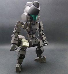 3d Printed Robot, Bjd, Toy People, 3d Printing, Sculptures, Figs, Prints, Gundam, Robots
