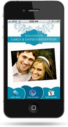 The Wedding Photo App for Guests to Take and Share Wedding Photos with the Bride.