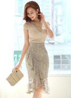 Korean Women`s Fashion Shopping Mall, Styleonme.Look at these street korean fashion clothing that look fabwork korean fashion which looks really trendy.Here's Cool korean fashion trends Korean Fashion Trends, Fashion 101, Fashion Tips For Women, Womens Fashion, Fashion Photo, Fashion Blogs, Fashion Online, High Fashion, Fashion Ideas
