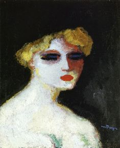 Kees van Dongen, Blond Woman with Small Head, circa 1906