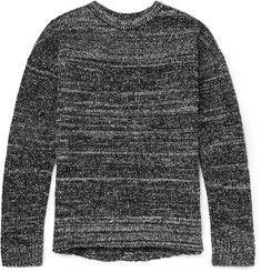John ElliottMélange Wool-Blend Bouclé Sweater