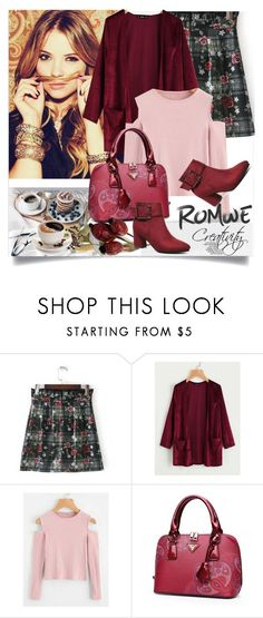 """""""ROMWE VI/5"""" by creativity30 ❤ liked on Polyvore featuring romwe"""
