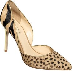 Guess Animal Print Classic Pump
