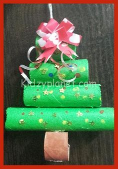 How to Make Christmas Tree with Waste Material