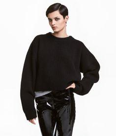 H&M - Grofgebreide wollen trui