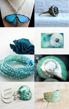 *** ~Tickle Me Teal ~ *** by Kady @ https://www.etsy.com/shop/MoodTherapy Featuring my Natural nautilus shell/ 925 silver focal bead (item number 8710) @ https://www.etsy.com/listing/108015059/natural-nautilus-shell-925-silver-focal?ref=tre-2723041497-6
