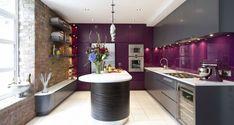 Lila - Konyha, konyhabútor szín ötletek - a legnépszerűbb színárnyalatok