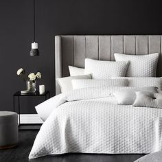 Mercer + Reid - Prague Quilt Cover White - Bedroom - Quilt Covers & Coverlets - Adairs Online