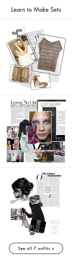 """""""Learn to Make Sets"""" by polybot ❤ liked on Polyvore featuring Oris, Forever 21, Muji, red.template, lanvin, h&m, Yves Saint Laurent, MAC Cosmetics, Gucci and Mikey"""
