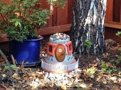 A Missive from Coriander Bats: Create your own Fairy house