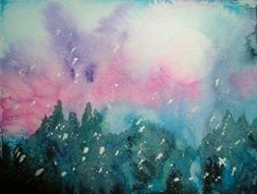 Original Watercolor - painted by my sister BJ - found on Fine Art America!