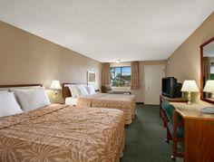 Standard Two Double Bed Room at the Days Inn Auburn in Auburn, Washington