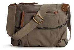 Poppie Jones Top Zip Messenger Bag