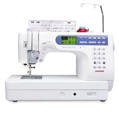 call it a dream machine!  maybe one day I'll upgrade my Janome. :)    Janome Memory Craft 6500P Computerized Sewing Machine - Discount Designer Fabric - Fabric.com