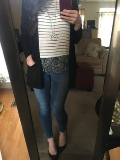 8450e646c5 Black boyfriend Cardigan with pockets and a hood! #AmeliaJames  #MyAmeliaJames #BoyfriendCardigan #BlackCardigan #BlackSweater #Stripes