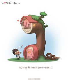 HJ-Story :: Love is... waiting to hear your voice!
