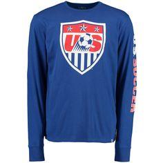 US Soccer '47 All Pro Team Long Sleeve T-Shirt - Blue